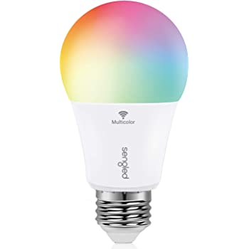 Sengled Smart Light Bulb, Color Changing Light Bulb, WiFi Light Bulbs No Hub Required, Smart Bulbs that Work with Alexa & Google Home, Smart LED A19 RGB Light Bulbs, 1 Pack