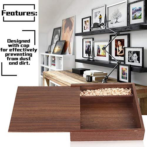 Jiobapiongxin Mode Ahorn/Walnuss Holz Foto Album Box Kreative Album Sammlung Box Crafts Album Holz Geschenkbox JBP-X