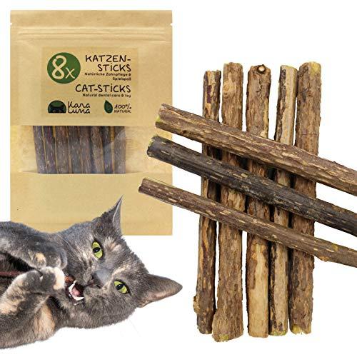 Cat Sticks | Juguete Dental y Juguete Natural para Gatos I Matatabi Silvervine