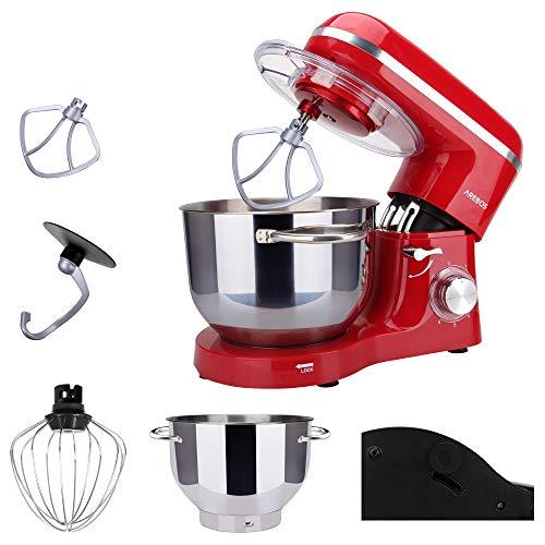 Arebos Küchenmaschine rot - 3