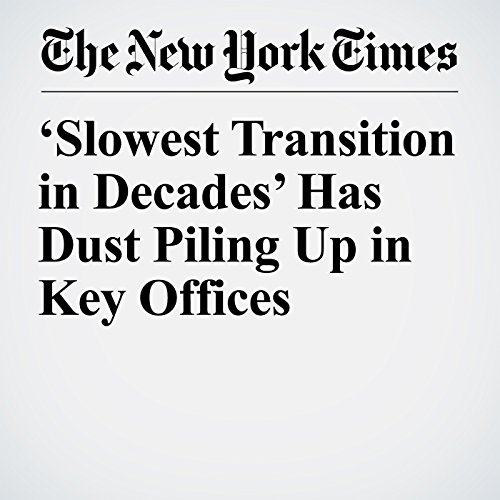 'Slowest Transition in Decades' Has Dust Piling Up in Key Offices copertina