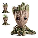 WILLBAN Baby Groot Blumentopf Figur aus Guardians of The Galaxy für Stiftehalter Sukkulenten und...
