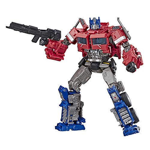 Transformers Toys Studio Series 38 Voyager Class Bumblebee Movie Optimus Prime Action Figure - Ages 8 and Up, 6.5-Inch