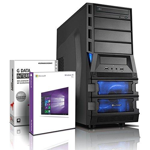 Ultra i7 DirectX 12 Gaming-PC Computer i7 930 4x3.06 GHz Turbo - GeForce GTX1060 6GB DDR5 - 16GB DDR3 - MSI X58 - 2TB HDD - Windows10 - DVD±RW - USB 3.0 - Gamer-PC #5119