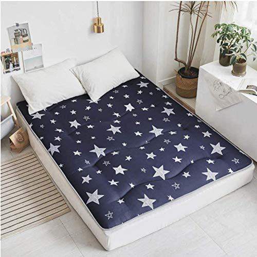 Tatami - Alfombrilla de dormir para el suelo de dormir, transpirable, para futón japonés Tatami, suave y gruesa, para colchón de dormitorio de estudiante LYFWMGOD/D/D/D/100 x 200 cm