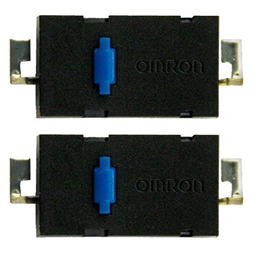 IT-Services Irro Kit de réparation/kit de réparation 2X D2LS-21 Micro interrupteurs adéquats pour Souris de PC Logitech Anywhere MX