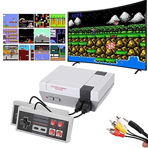 620 Retro Game Console,Classic Mini Game System with Preloaded 620 Games and 2 Nes Classic...