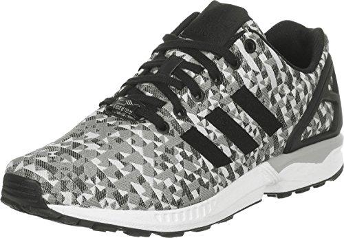adidas ZX Flux Weave, Sneaker a Collo Basso Uomo^Donna, Grigio (Grau), 36.5