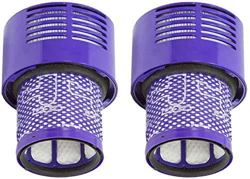 Confezione da 2 Filtri di Ricambio Lavabili per gli Aspirapolvere Senza Fili Dyson V10,Dyson V10 Filtro di Ricambio Lavabile per Aspirapolvere Dyson V10 SV12 Serie