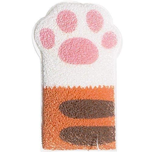 Bola de baño de algodón uña de gato baño de baño del bebé bola del baño champú for bebés baño de esponja artefacto niños frotan la toalla de baño baño de limpiar lucar
