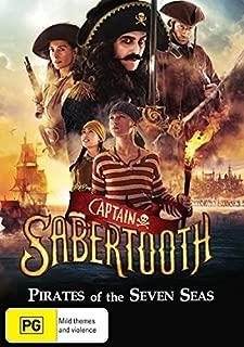 Captain Sabertooth | NON-USA Format | PAL | Region 4 Import - Australia