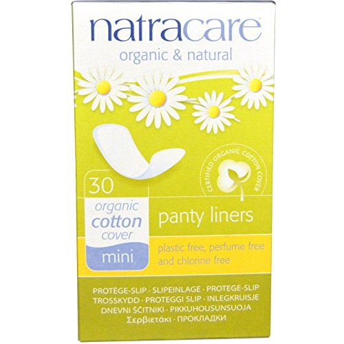 Natracare Mini Panty Liners - Organic 30 x 3 packs