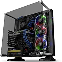 Thermaltake Core P3 ATX چشمان شیشه ای Gaming Case Case Chassis، Frame Frame Panoramic Viewing، Glass Wall Mount، Cable Riser Included، Black Edition، CA-1G4-00M1WN-06