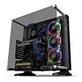 Thermaltake Core P3 ATX Tempered Glass Gaming Computer Case Chassis, Open Frame...