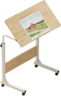 Table Notebook Laptop Desk Portable Standing Bed Sofa Table Multifunction Desktop Can Be Tilted Painting With Pulley, 3 Co...