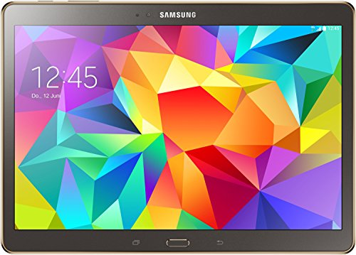Samsung Galaxy Tab S 26,67 cm (10,5 Zoll) LTE Tablet-PC (Quad-Core, 1,9GHz, 3GB RAM, 16GB interner Speicher, Android) titanium/bronze