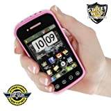 Streetwise SamStun Cell Phone Stun Gun Rechargeable Pink (Please see item detail in description)
