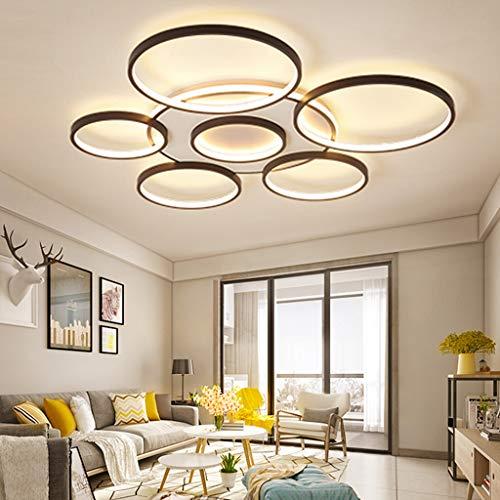 Lámpara De Techo LED Regulable Luzdetecho Con Control Remoto Lámpara De Salón...