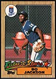 1987 Topps #170 Bo Jackson Kansas City Royals Rookie Card- Mint Condition Ships in New Holder