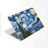 SDH Funda para MacBook Pro de 15 pulgadas con CD-ROM 2010-2012 lanzado,carcasa protectora dura y cubierta de teclado solo compatible para Mac Pro 15 pulgadas modelo A1286, pintura de paisaje 10