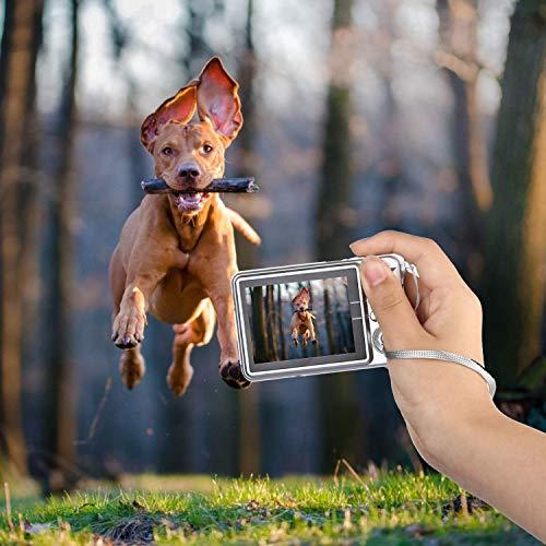 Digitalkamera, CamKing 2,7-Zoll-Digitalkamera, 18 MP HD-Kamera für Rucksacktouren, Mini-Digitalkamera-Taschenkameras Digital mit Zoom, Kompaktkameras für Fotografie