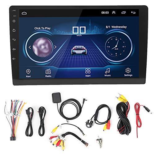 Lettore Radio di Navigazione GPS Stereo per Auto, Schermo da 9 Pollici Bluetooth 2 Lettore MP5 Din Wifi Lettore Multimediale Audio per Autoradio con Modulo Bluetooth Integrato WIFI(Senza fotocamera)