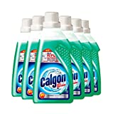 Calgon 3-in-1 Antibacterial Washing Machine Water Softener Gel, 6 x 750 ml (4.5 Litre)