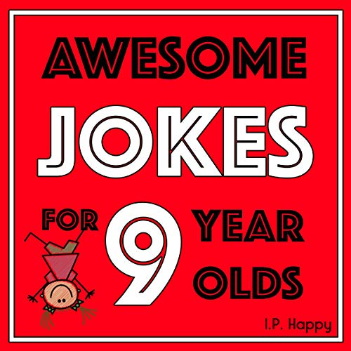 Awesome Jokes for 9 Year Olds audiobook cover art