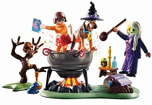 Aventura en el caldero de la bruja Playmobil - Scooby-Doo! (70366)