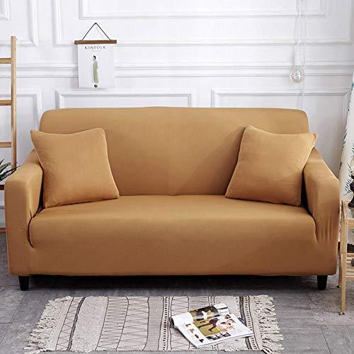 HXTSWGS Housse de Canapé d'angle,Living Room Sofa Cover 1 2 3 4 Seat Cover, Stretch Fabric Sofa Protection Cover, Sofa Seat cover-Color22_235-300cm