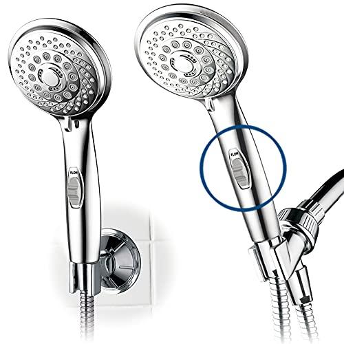 HotelSpa 7-setting AquaCare Series Spiral Handheld Shower...