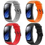 YPSNH Compatible para Correa Gear Fit 2/ Fit 2 Pro Correa de Silicona Deportiva de Reemplazo para Samsung Gear Fit2...
