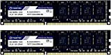 Timetec Hynix IC 16GB Kit (2x8GB) DDR3 1333MHz PC3-10600 Unbuffered Non-ECC 1.5V CL9 2Rx8 Dual Rank 240 Pin UDIMM PC Sobremesa Memoria Principal Module Upgrade