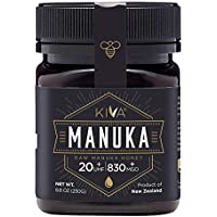 Kiva Raw Manuka Certified UMF 20+ Honey