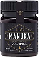 عسل مانوكا خام معتمد من كيفا UMF 20+، نيوزيلاند (8.8 اونصة، 250 جرام)