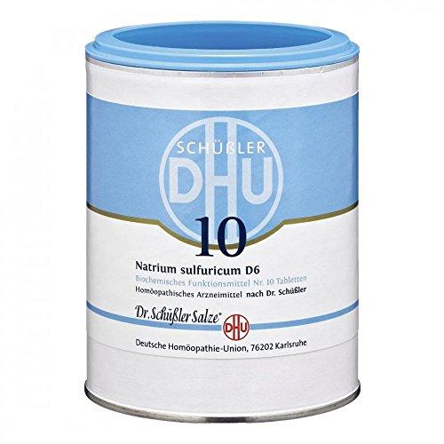 DHU Schüßler-Salz Nr. 10 Natrium sulfuricum D6 Tabletten, 1000 St. Tabletten