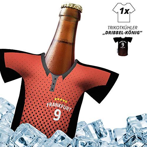 ligakakao Fan-Trikot-kühler Home für. Eintracht Frankfurt-Fans | DRIBBEL-KÖNIG | 1x Trikot | Fußball Fanartikel Jersey Bierkühler by