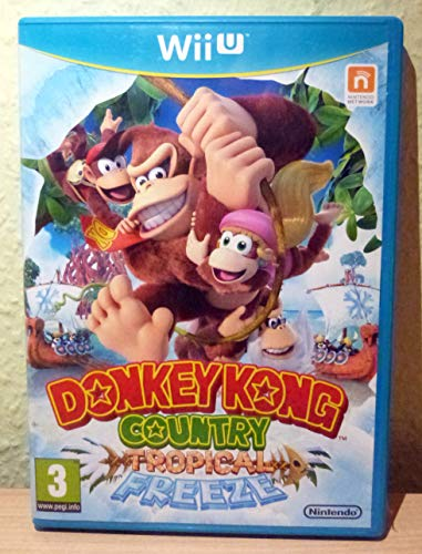Wii U Donkey Kong Country: Tropical Freeze (PEGI)