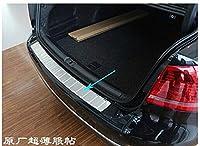高品質リア敷居車のバンパープロテクターステンレス鋼スタイリングフォルクスワーゲンパサート B7 2012 2013 2014 2015 2016 2017