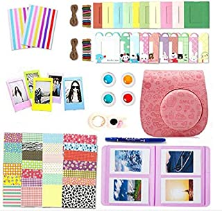 10 in 1 Bundles Fujifilm Instax Mini 8 / Mini 9 / Mini 8, Camera Accessories Fujifilm Set - Pink