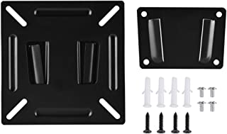 Pomya Wall-Mounted Stand Slim Compact Bracket Holder for 12-24 Inch LCD LED Monitor TV PC Screen