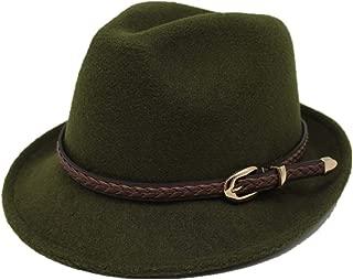 Sun Hat for men and women Men Women Fedora Leather Belt Fedora Jazz Hat British Hat Godfather Church Hat Punk Band Denim Trend