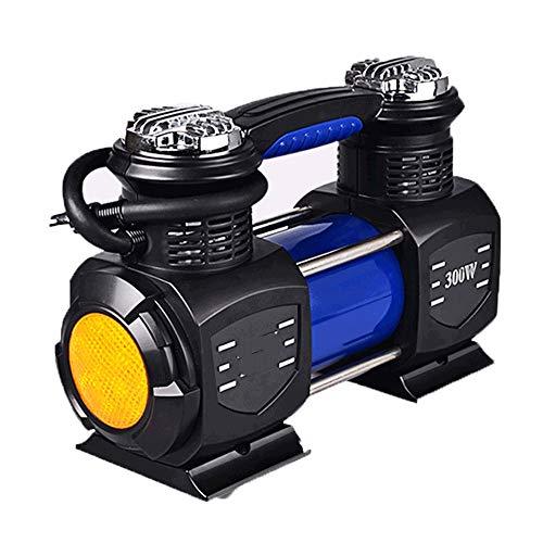 WNN-URG Compresores de Aire, Multi-función de 12V DC portátil de la Bomba del compresor de Aire for el Coche, Bicicleta, Pelota, colchón de Aire, Bote de Goma URG