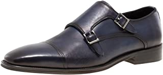 Jump Newyork Mens Mario Double Monk Strap Dress Shoes