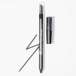 Kajal Extreme Eyeliner Pencil by VASANTI - Intense Black Eyeliner with Built In Sharpener and Smudger - Waterproof, Parabe...