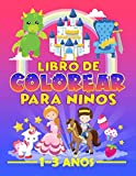 Libro de colorear para niños 1-3 años: 35 bonitas ilustraciones sobre el tema de los cuentos de hadas