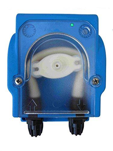 alfa-pool Dosierpumpe, Schlauchpumpe PVG 230V regelbar 0,2-1,5 l/h mit Betriebsanzeige und Leermeldung