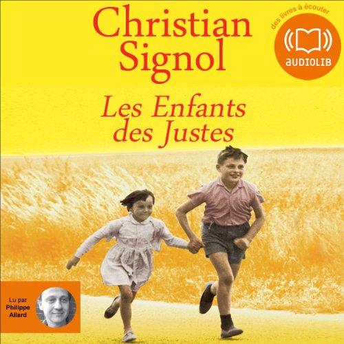 Les Enfants des Justes  audiobook cover art