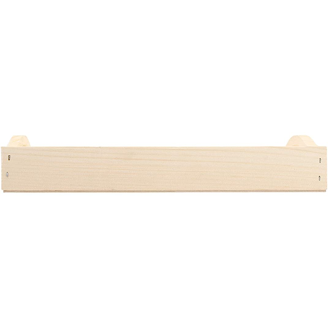Walnut Hollow Unfinished Wood Serving Tray for Weddings, Home Decor and Craft Projects, 8
