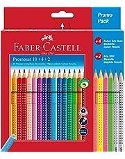 Faber-Castell 201540 Kredki Ołówkowe, Wielokolorowy, 24 Sztuk